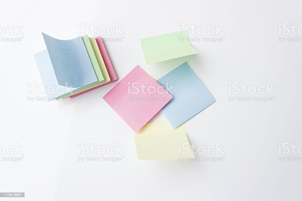 Adhesive Notes royalty-free stock photo