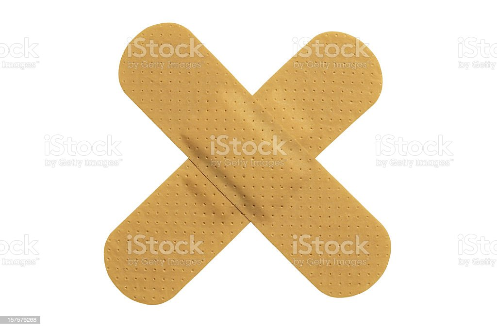 Adhesive plaster royalty-free stock photo