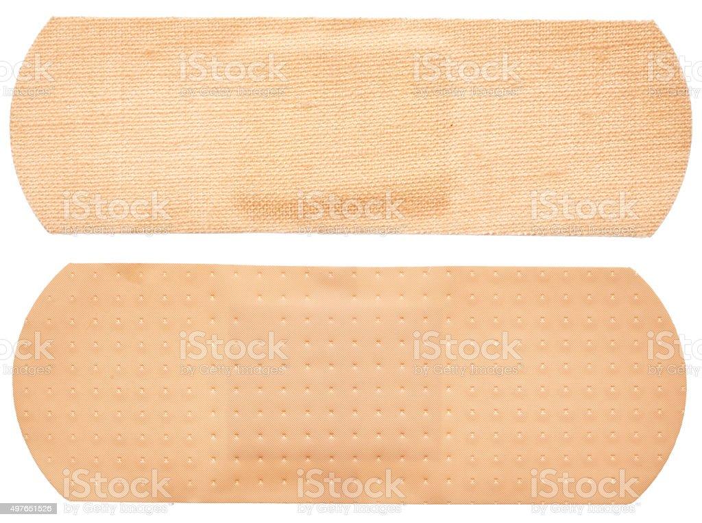 Adhesive plasters stock photo