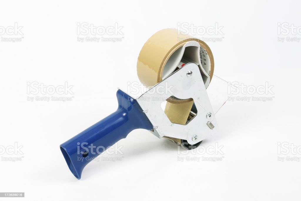 Adhesive Tape Gun 2 royalty-free stock photo