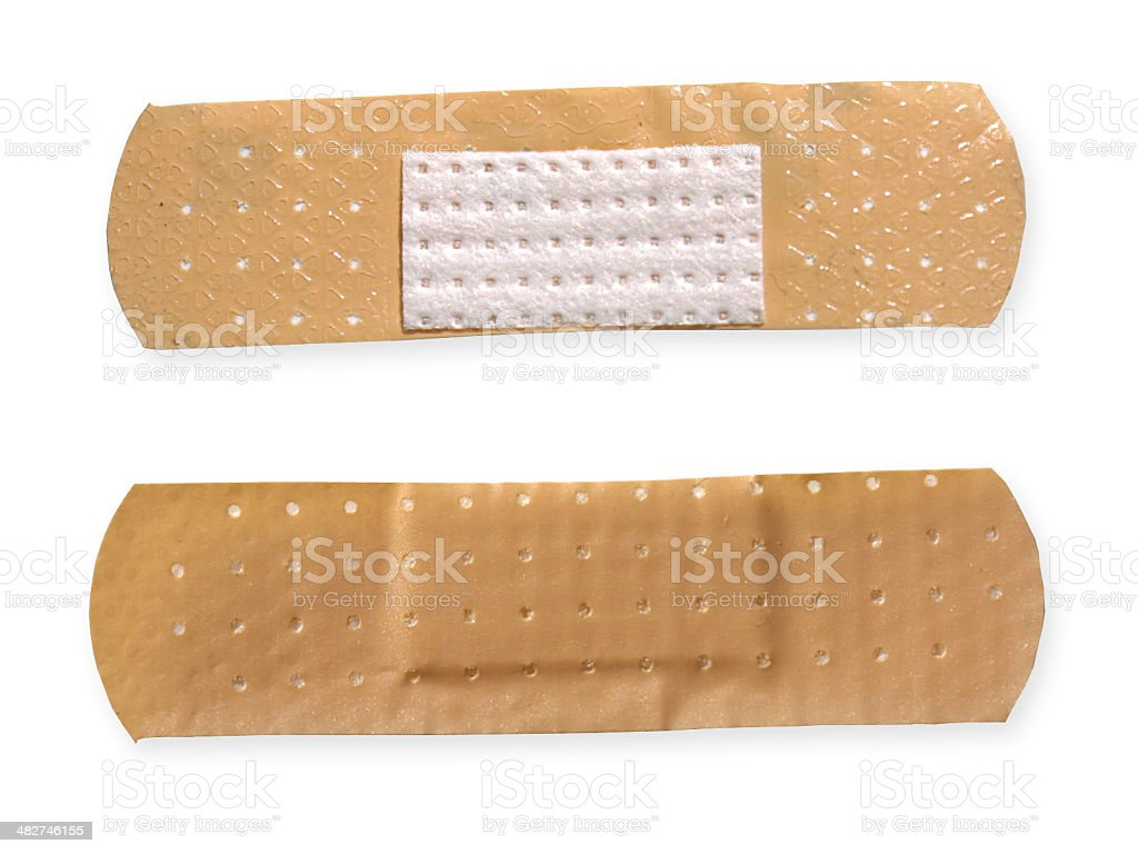Adhesive tape royalty-free stock photo