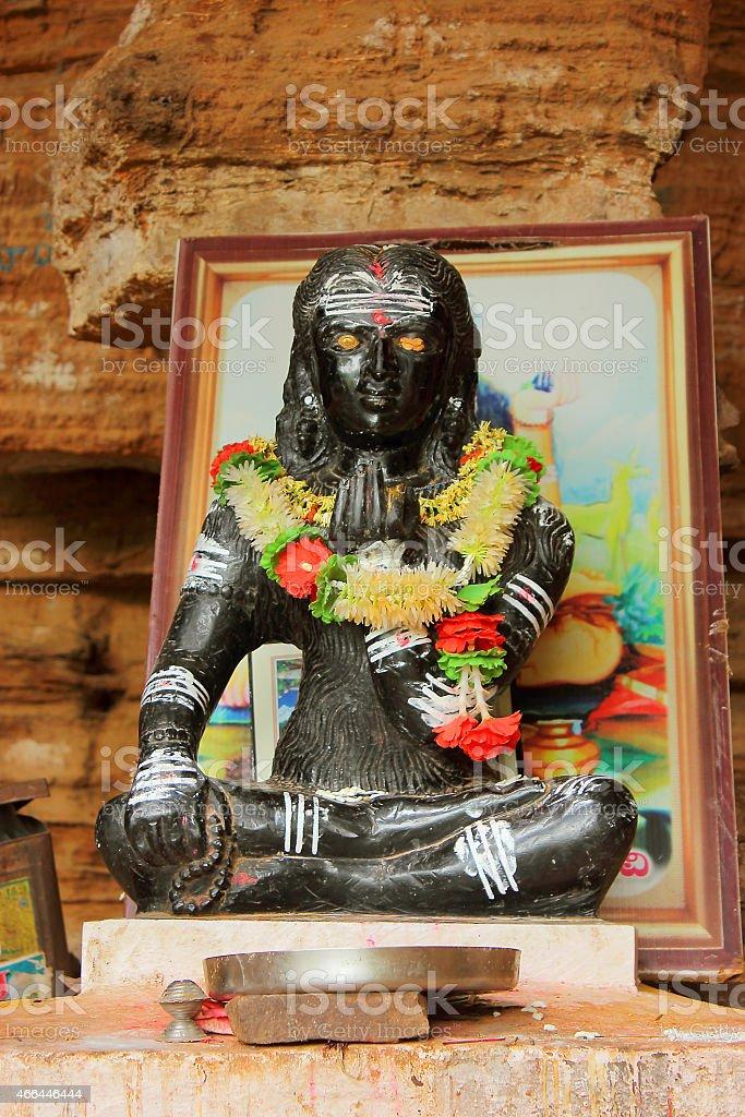 Adi Shankaracharya stock photo
