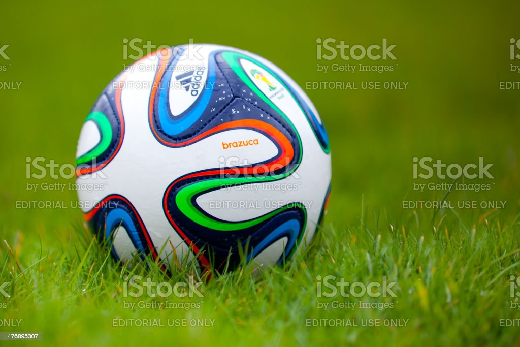 Adidas Brazuca World Cup 2014 Footbal stock photo