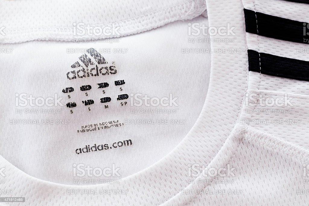 Adidas Sport Uniform stock photo