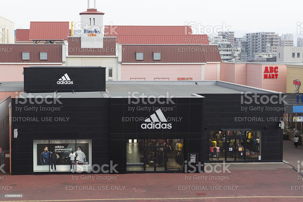 Adidas Store in Hawks Town Mall stock photo