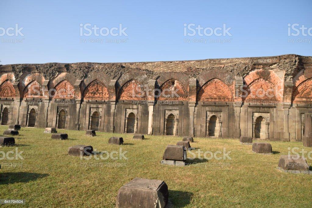 Adina Mosque in Malda( Gaur) in Bengal State India stock photo