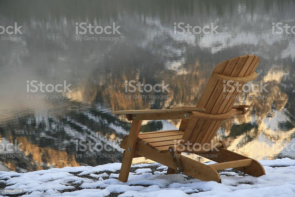 Adirondack Chair 3 royalty-free stock photo
