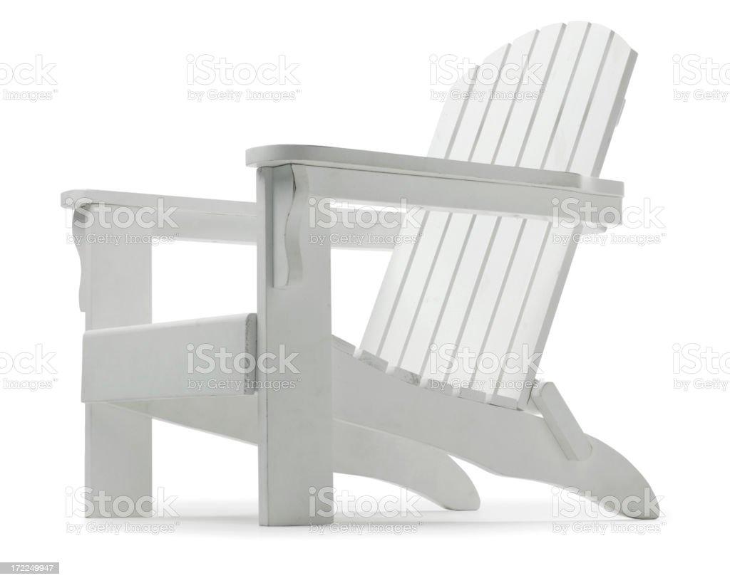 Adirondack Chair royalty-free stock photo
