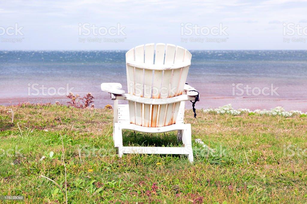Adirondack on PEI Gulf stock photo
