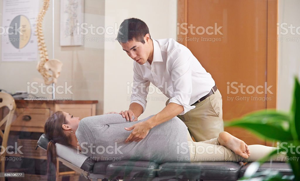 Adjust your health stock photo