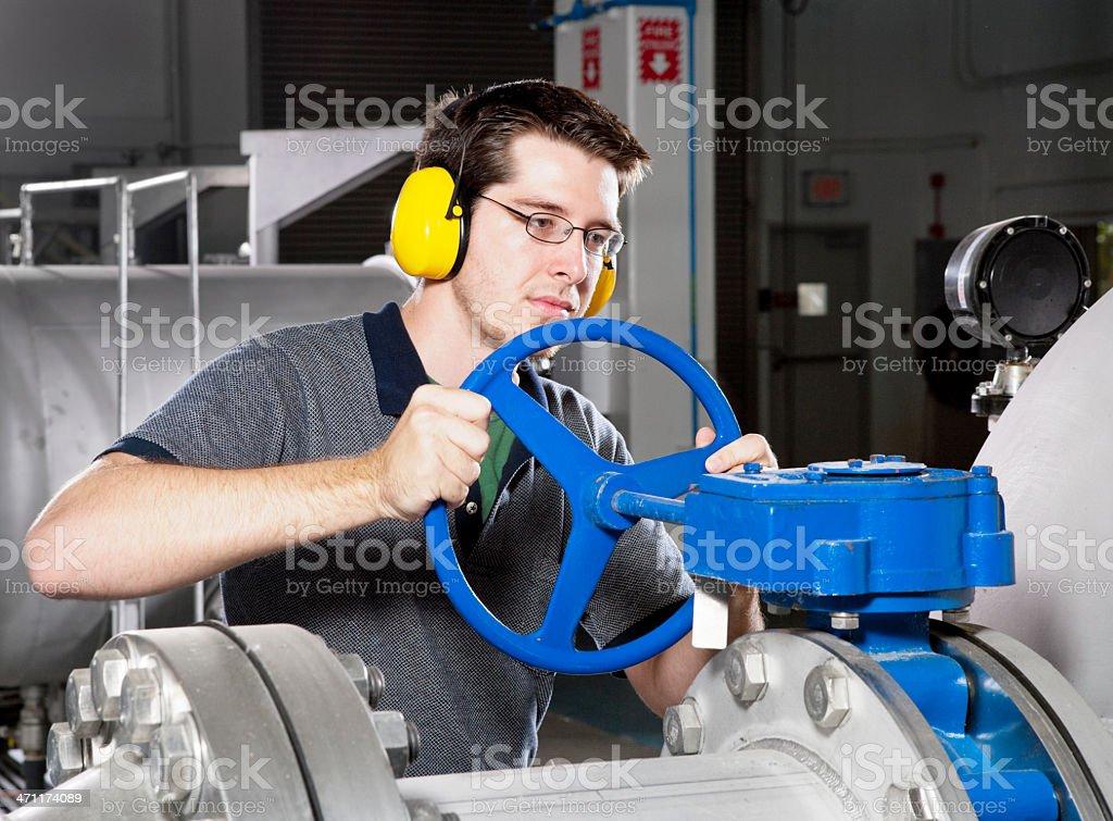 Adjusting stock photo