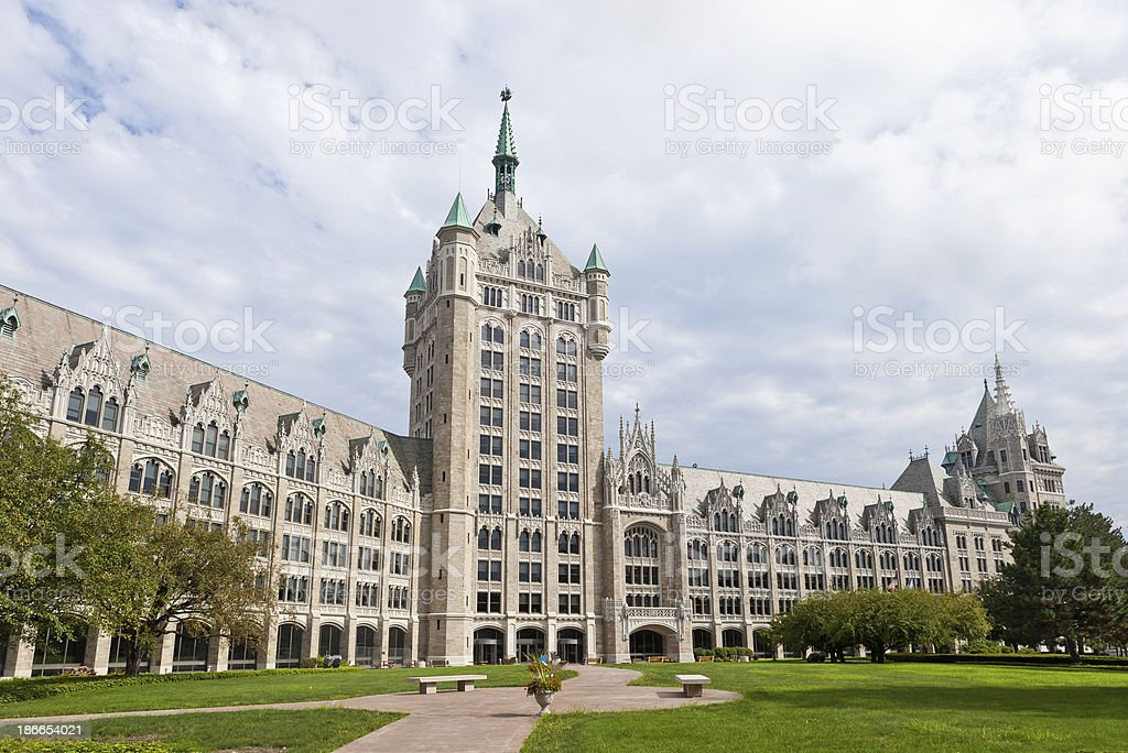 SUNY Administration Building In Albany, New York stock photo