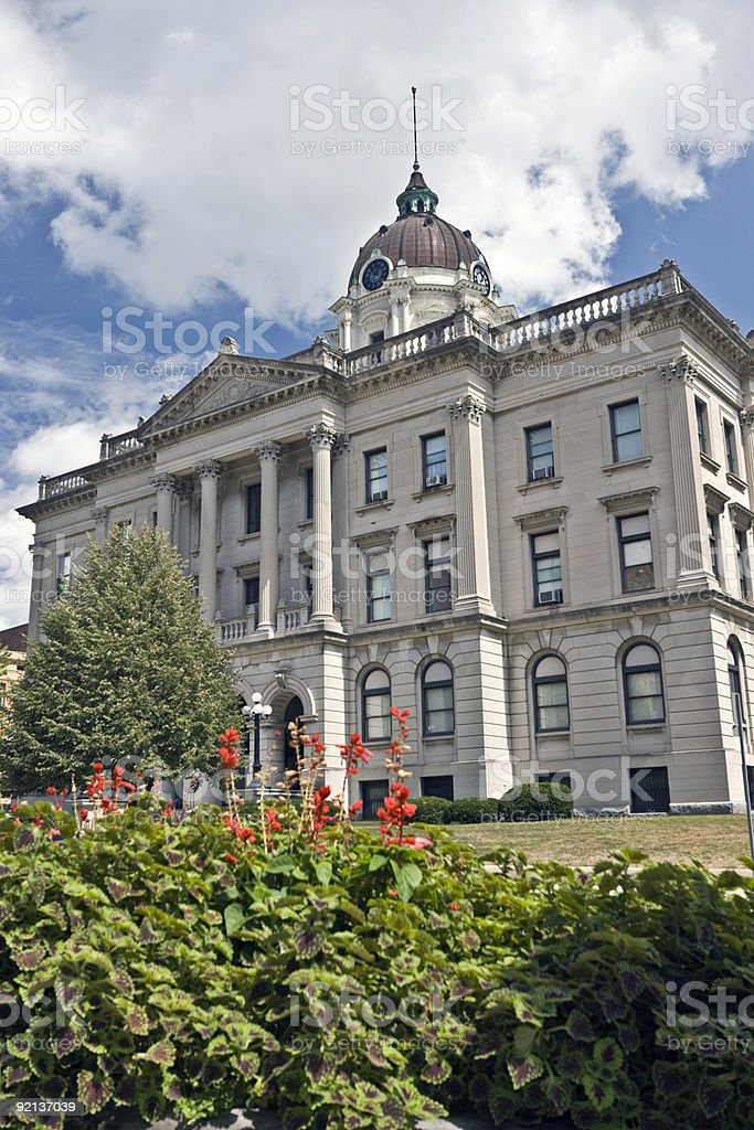 Administration building in Bloomington stock photo