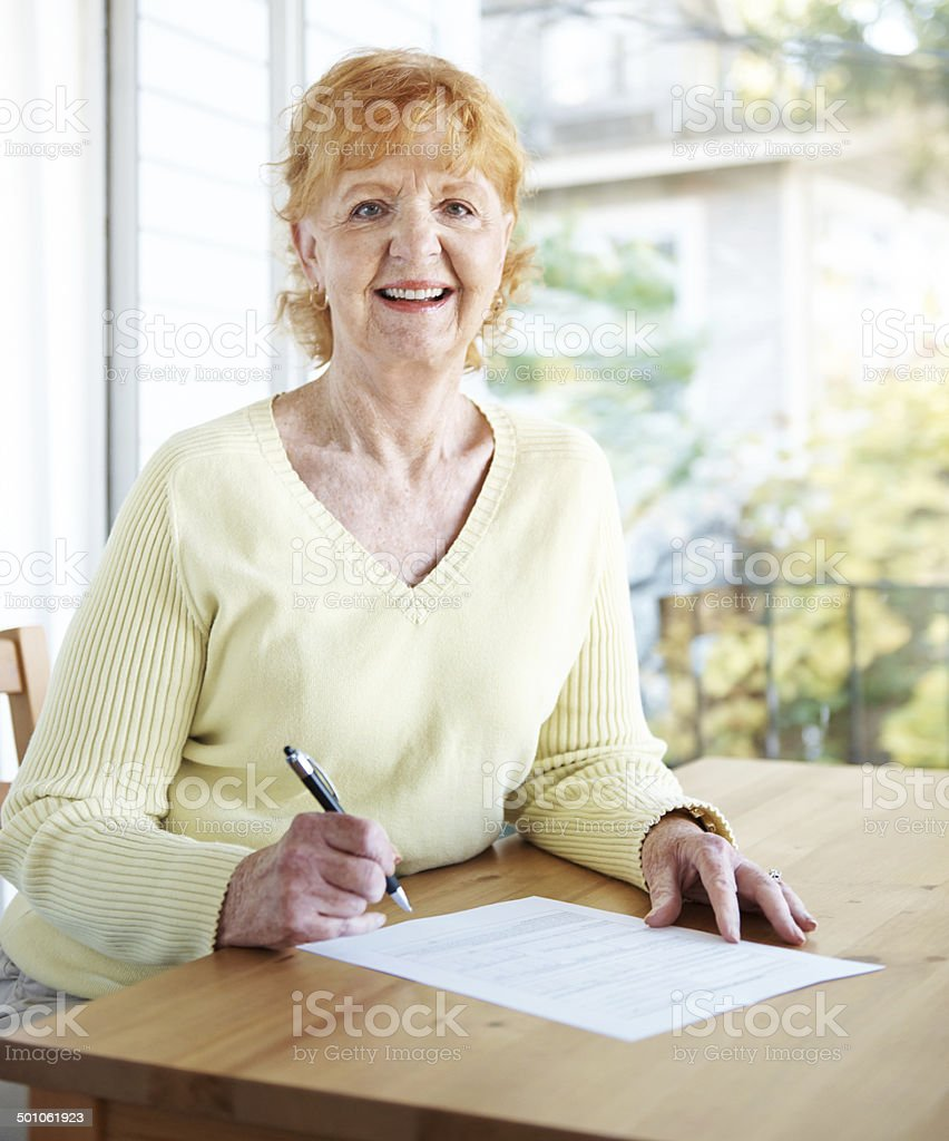 Admin's not so bad on such a beautiful day stock photo