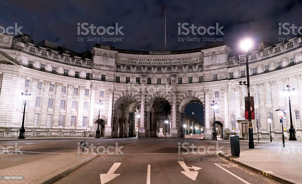 Admiralty Arch London  Lizenzfreies stock-foto
