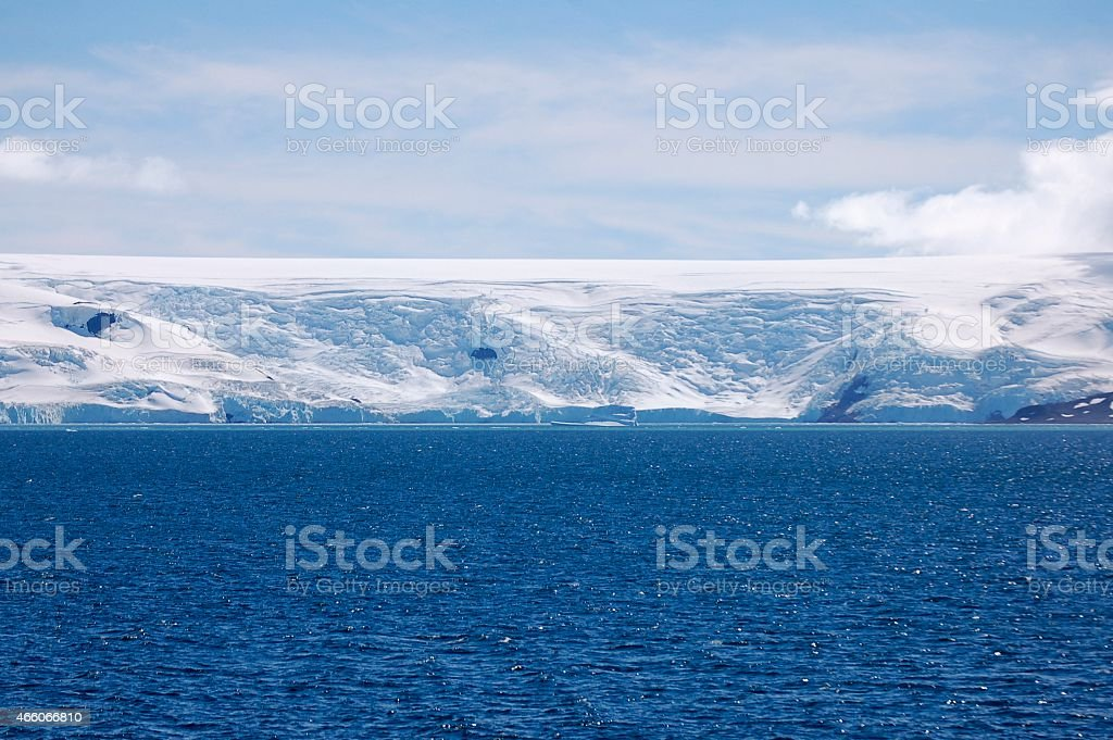 Admiralty Bay Glacier stock photo