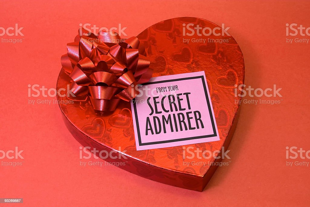Admirer royalty-free stock photo