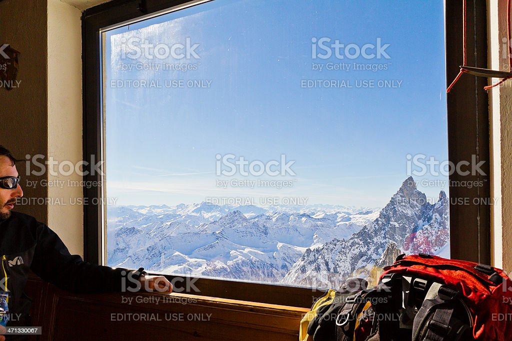 Admiring Panorama stock photo