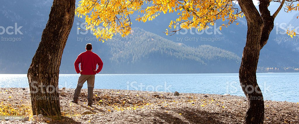 Admiring the View royalty-free stock photo