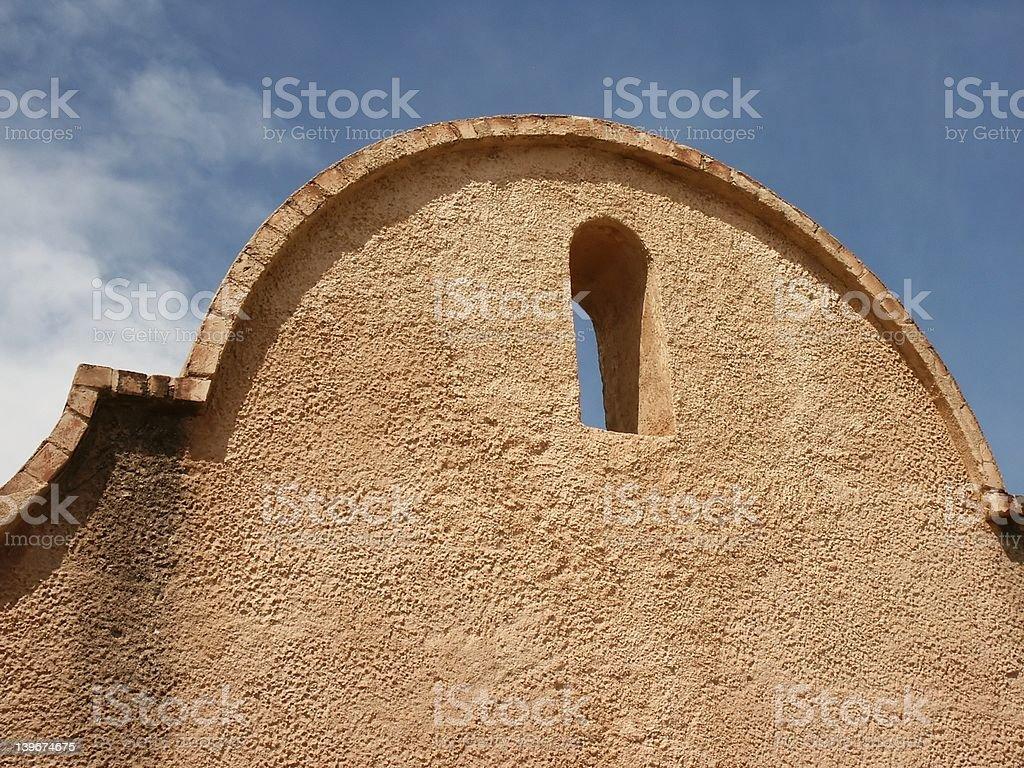 Adobe arch stock photo