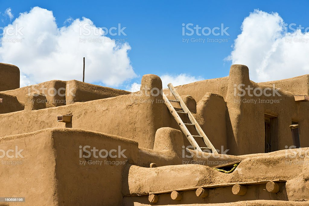 Adobe Architecture royalty-free stock photo