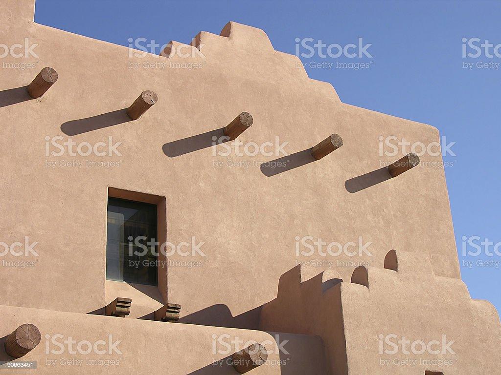 Adobe Architecture royalty-free stock photo