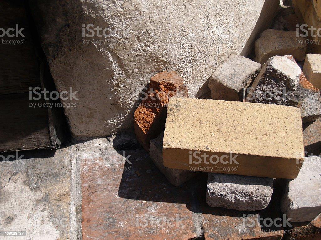 Adobe Bricks stock photo