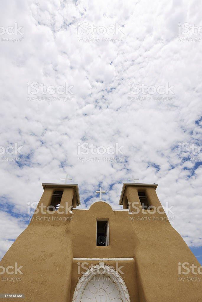Adobe Church stock photo