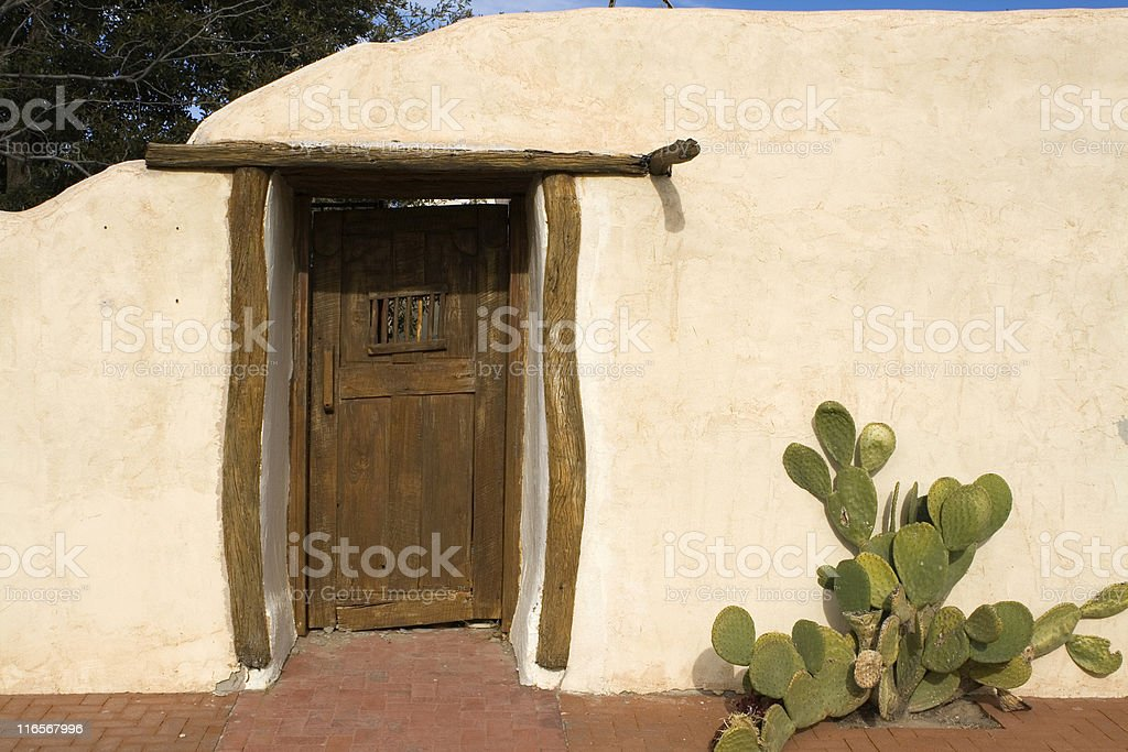 Adobe Doorway stock photo