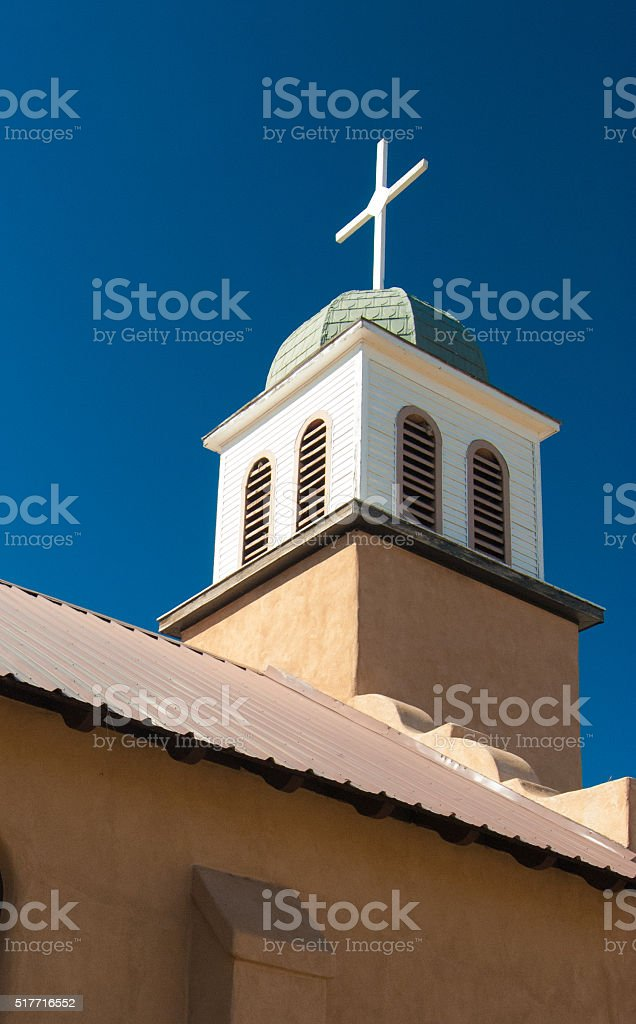 Adobe Mission Church stock photo
