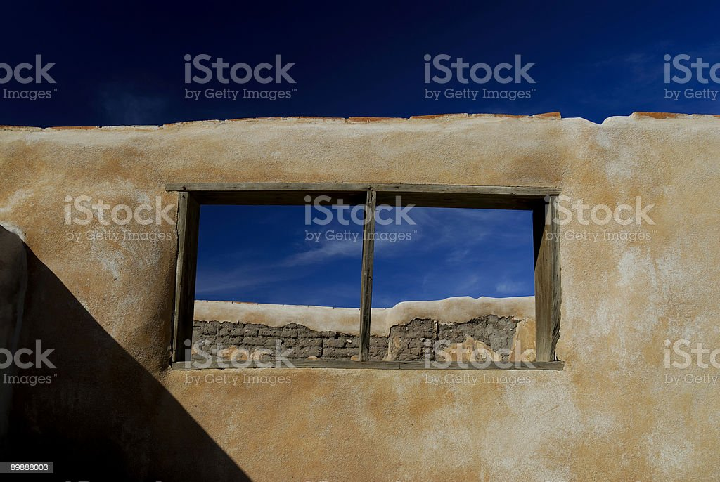 Adobe Ruins stock photo