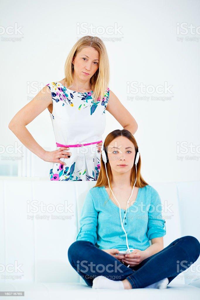 Adolescence royalty-free stock photo