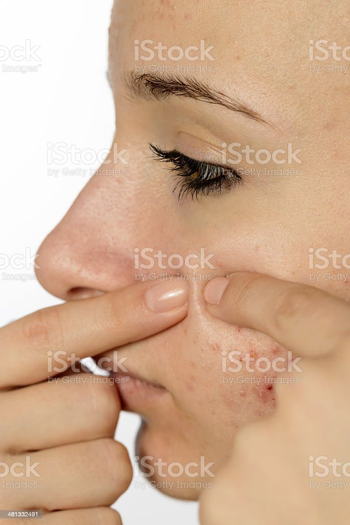adolescence problems royalty-free stock photo