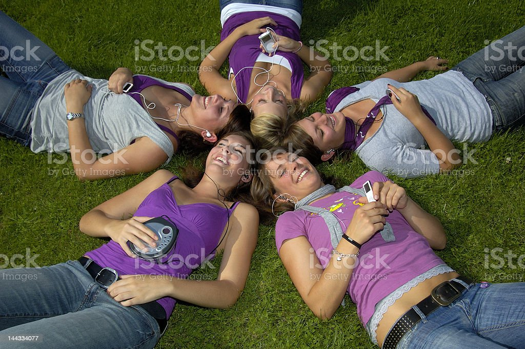 Jugendliche stock photo
