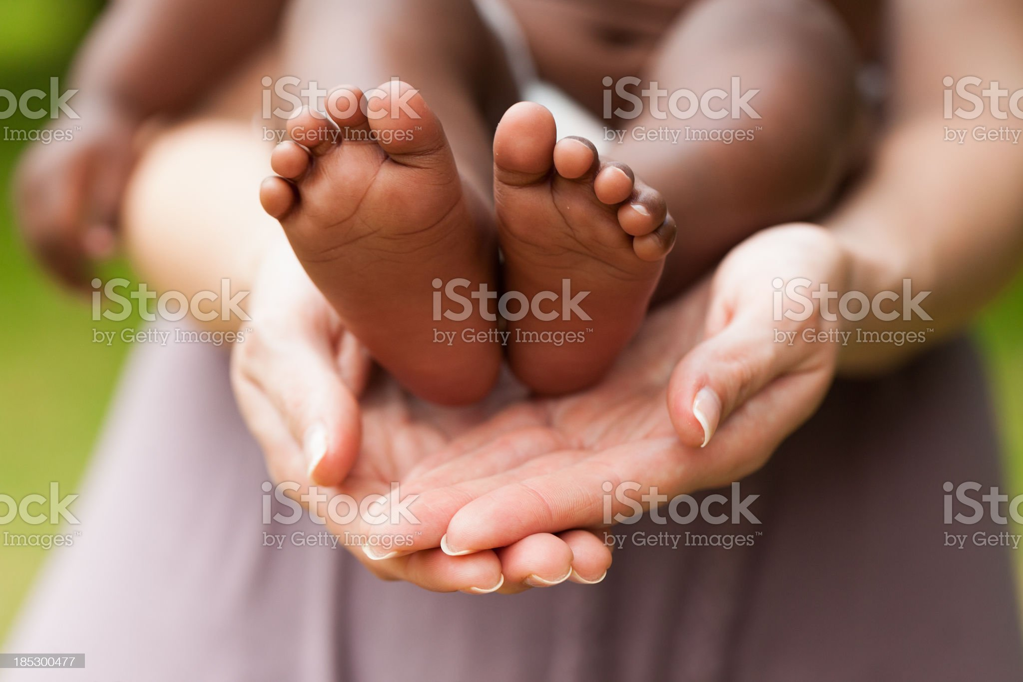 Adoption or a Baby Concept royalty-free stock photo