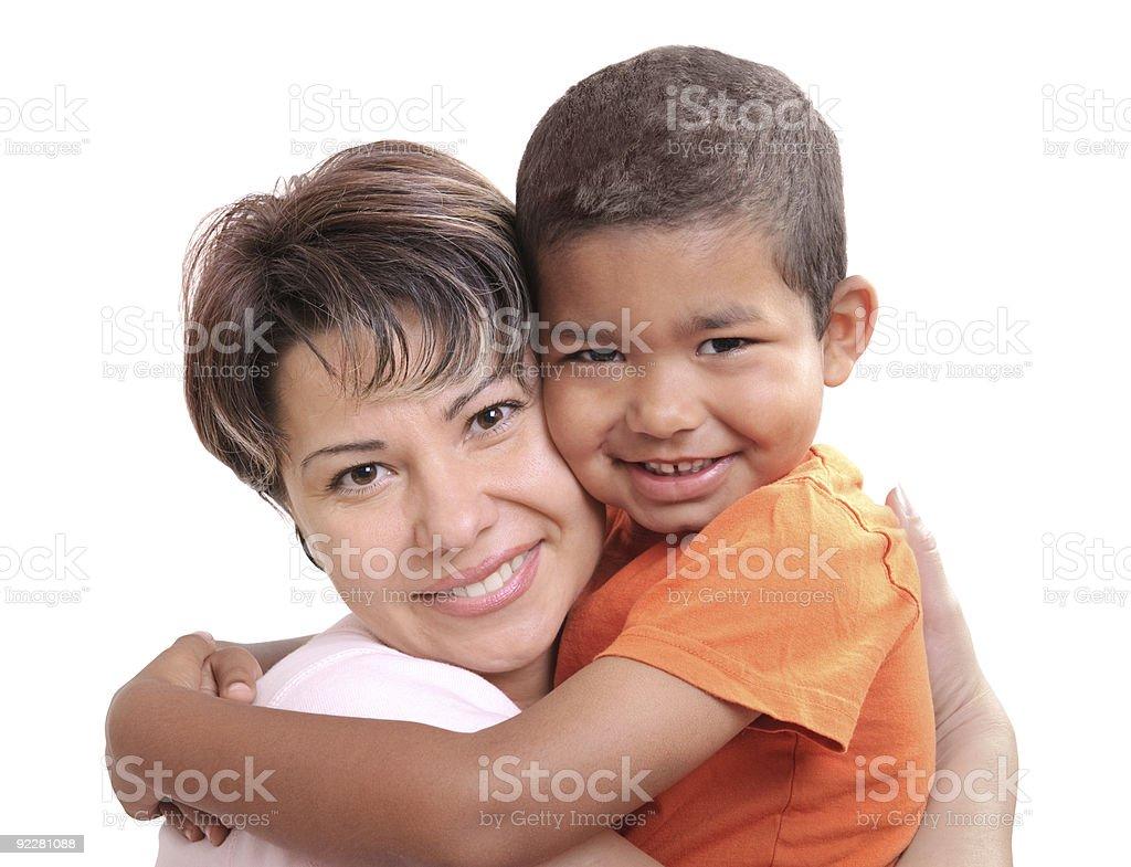 Adoptive child stock photo