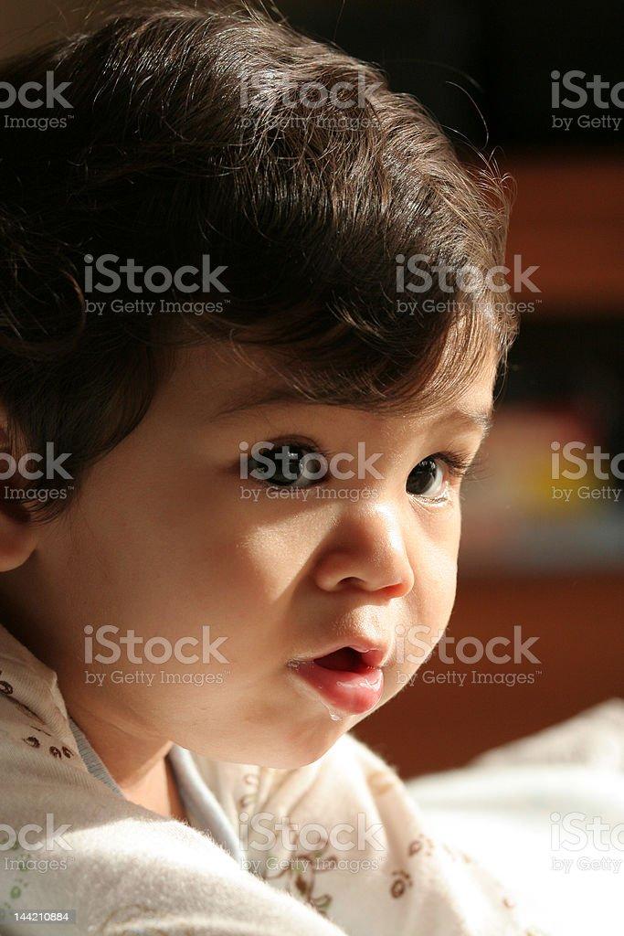 Adorable Baby Boy royalty-free stock photo