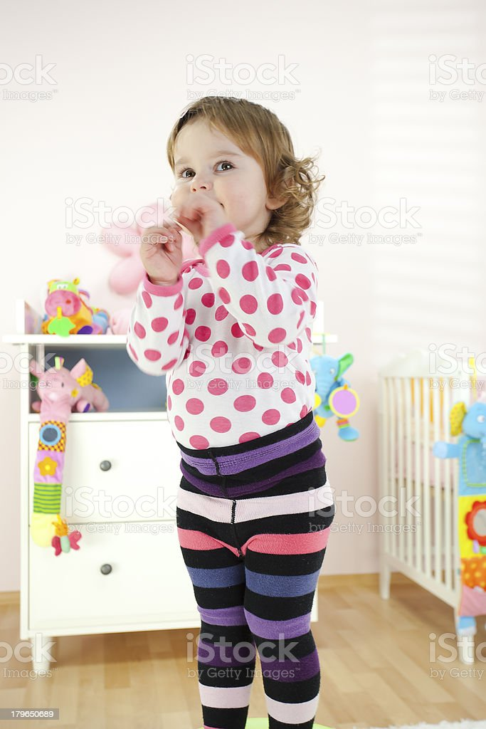 Adorable Baby Girl royalty-free stock photo