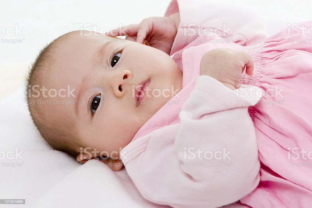 Adorable baby royalty-free stock photo