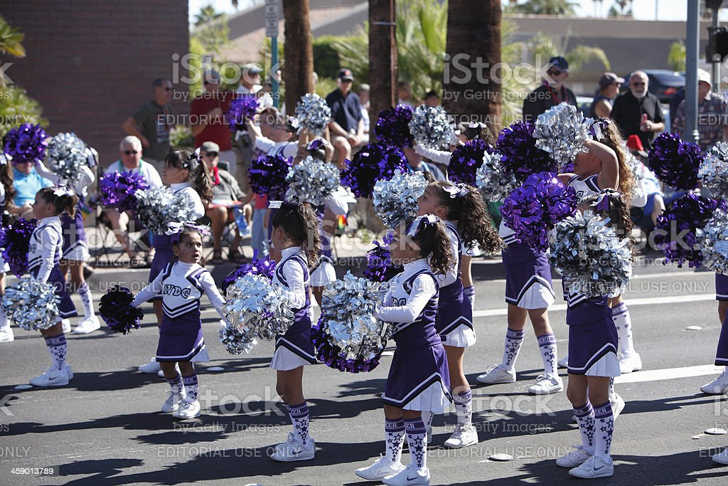 Adorable Children Participating In The Palm Springs Pride Parade royalty-free stock photo