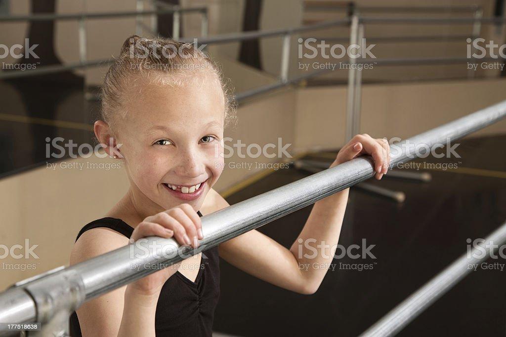 Adorable Dancer royalty-free stock photo