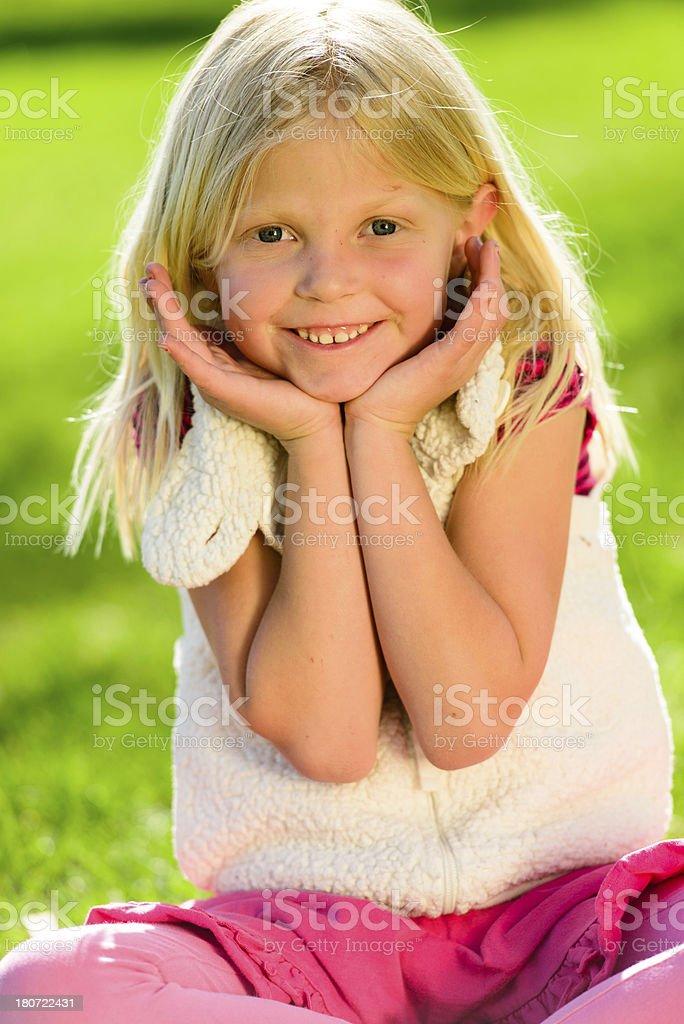 Adorable Face royalty-free stock photo