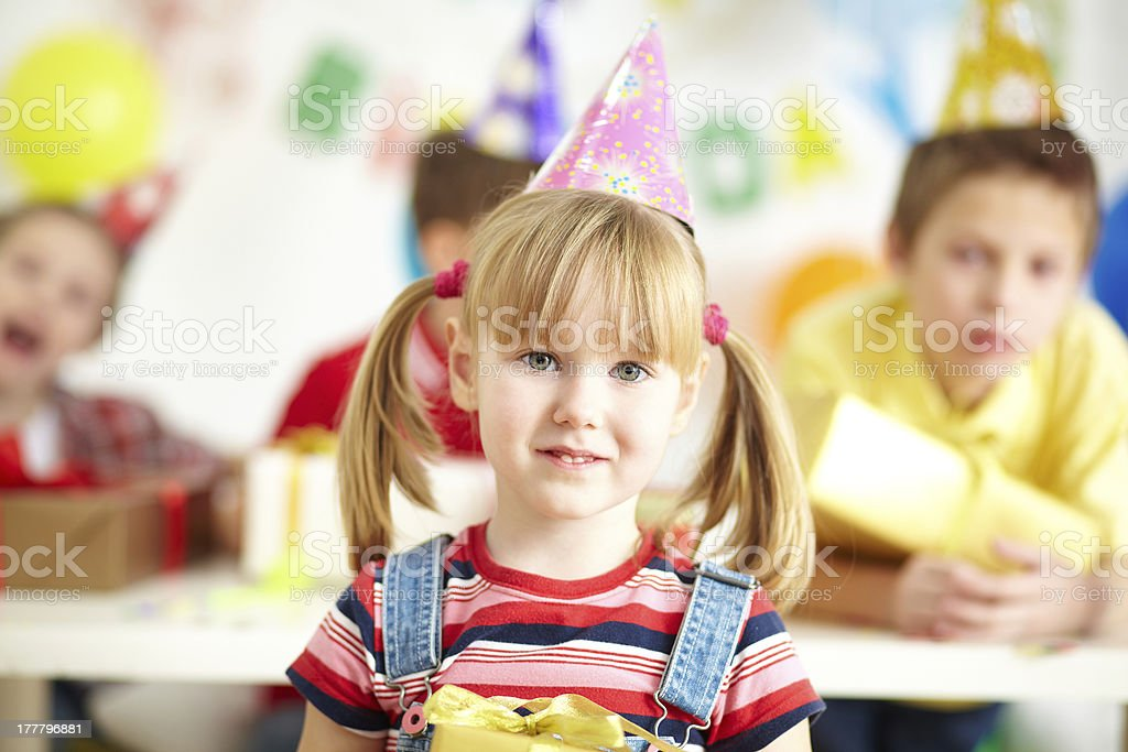 Adorable girl royalty-free stock photo
