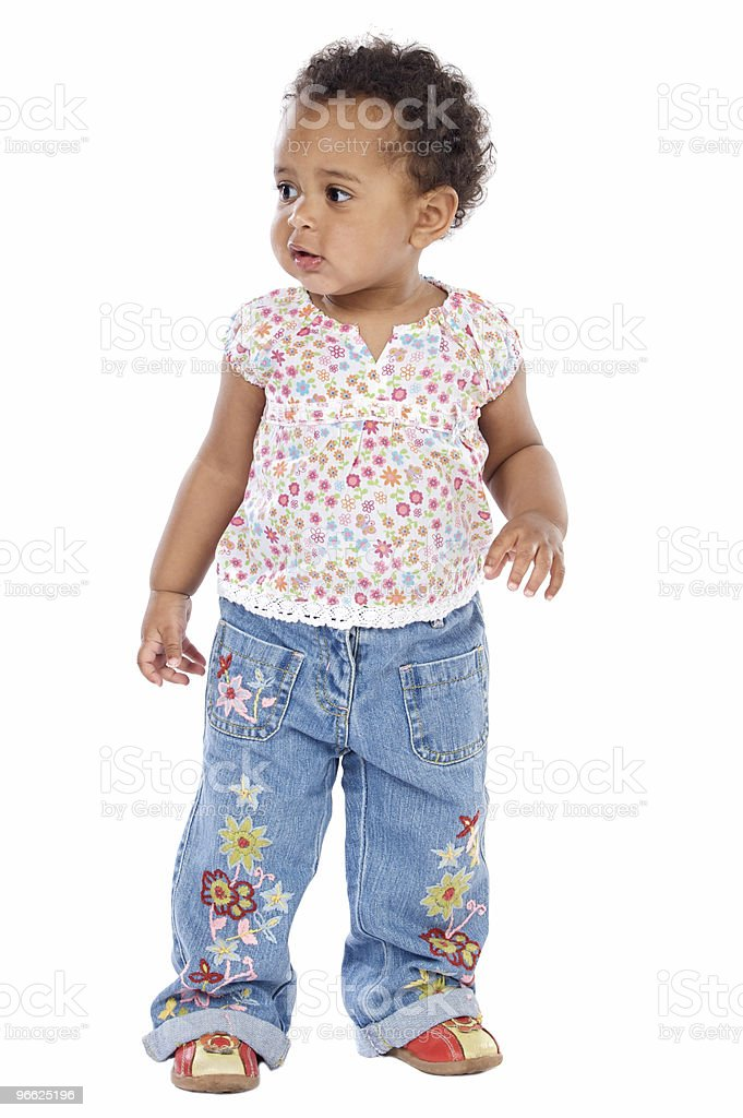 adorable happy baby royalty-free stock photo