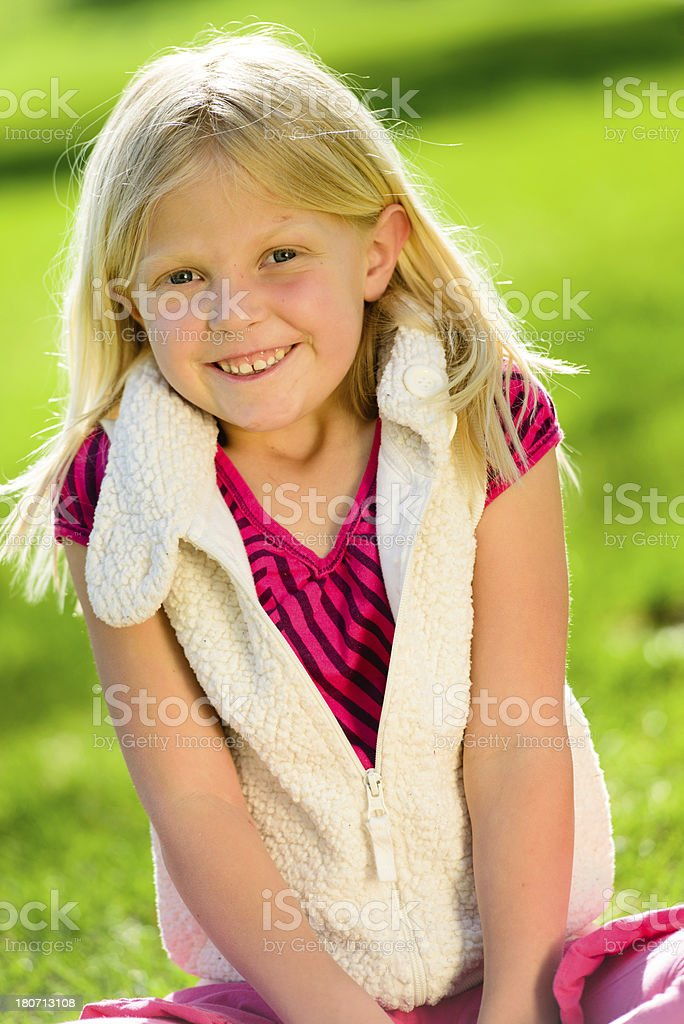 Adorable Little Girl royalty-free stock photo