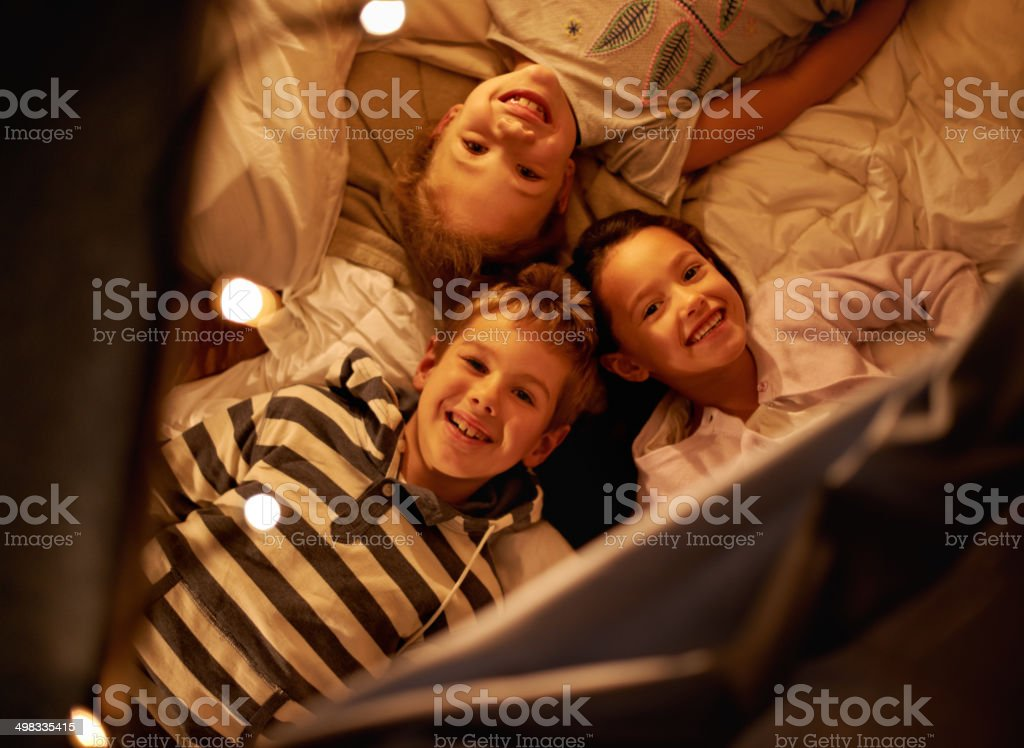Adorable little ones stock photo