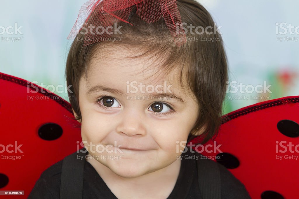 Adorable littlebug royalty-free stock photo