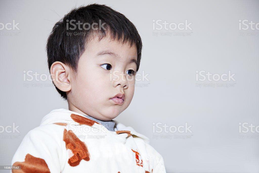 Adorable toddler. royalty-free stock photo