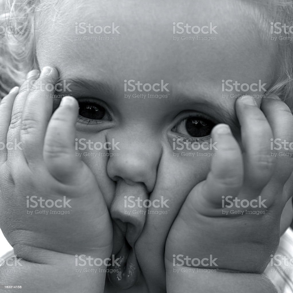 Adorable Toddler royalty-free stock photo