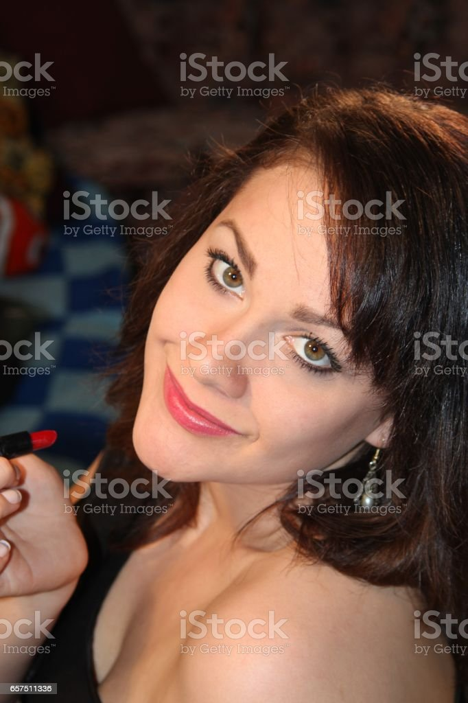 Adorable Young Lady stock photo